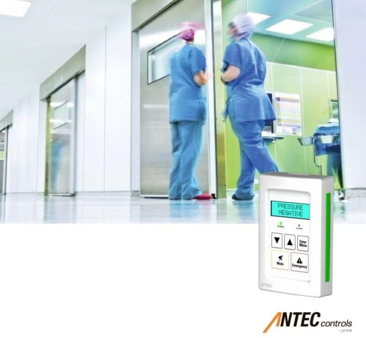 Antec Controls Room Pressure Monitor